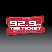 92.9 The Ticket Logo
