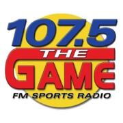107.5 The Game Logo