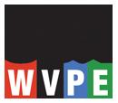 WVPE Blues3 Elkhardt, IN Logo