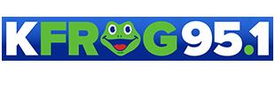 KFRG FM 95.1  San Bernardino CA Logo