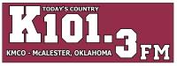 KMCO FM 101.3 Logo