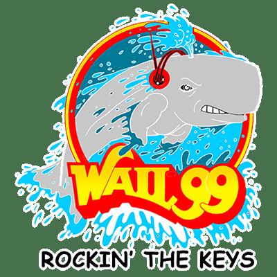 WAIL FM 99.5  Key West FL Logo