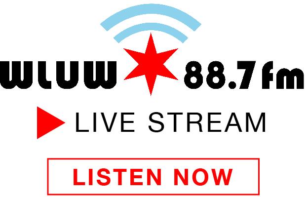 WLUW FM 88.7  Loyola Chicago IL Logo